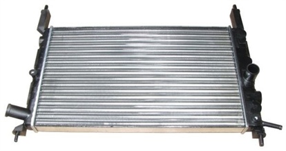 Kylare 525x322x23mm, In/Ut D=34mm, Opel, 1300