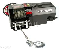 EL-WINCH, SUPERWINCH, 12V, S5000, KW, WIRE 15,2MXMM, DRAGKRAFT: 2270KG