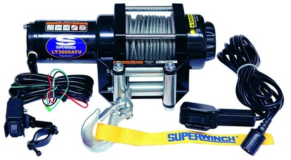 EL-WINCH, SUPERWINCH, 12V, LT3000ATV, KW, WIRE 15MX4.8MM, DRAGKRAFT: 1361KG