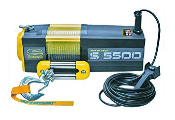 EL-WINCH, SUPERWINCH, 12V, S5500, 1,57KW, WIRE 12,2MX6,4MM, DRAGKRAFT:2494KG