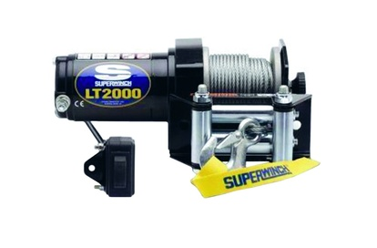 EL-WINCH, SUPERWINCH, 12V, LT2000ATV, 0,75KW, WIRE 15MX3,9MM, DRAGKRAFT: 907KG